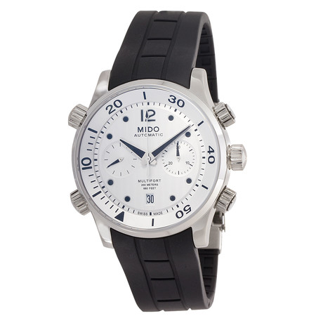 Mido Multifort Chronograph Automatic // M0059141703000 // New