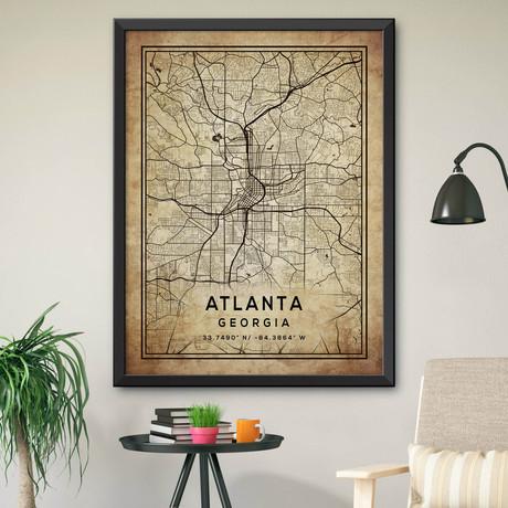 "Atlanta, Georgia (24""H x 18""W)"