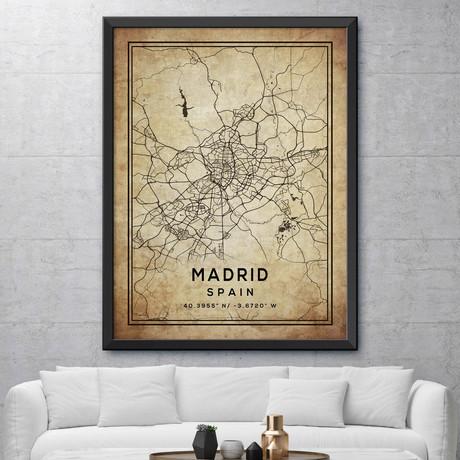 "Madrid, Spain (24""H x 18""W)"