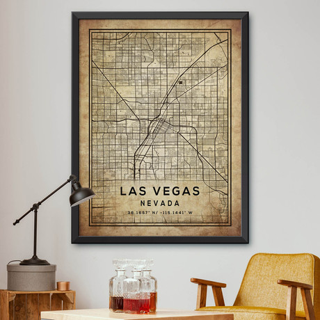 "Las Vegas, Nevada (24""H x 18""W)"