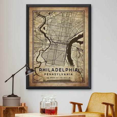 "Philadelphia, Pennsylvania (24""H x 18""W)"