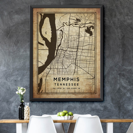"""Memphis, Tennessee (24""""H x 18""""W)"""