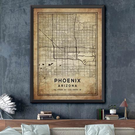 "Phoenix, Arizona (24""H x 18""W)"