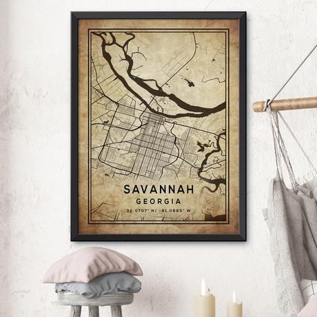 """Savannah, Georgia (24""""H x 18""""W)"""