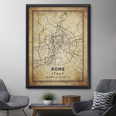 "Rome, Italy (24""H x 18""W)"