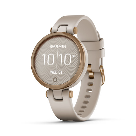 Lily™ Watch + Silicone Sport Band // Rose Gold + Light Sand // 010-02384-01
