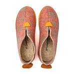 Ivy House Slipper // Orange Plated + Beige Sole (Euro: 44)
