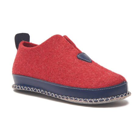 Ivy House Slipper // Red (Euro: 36)