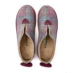 Ivy House Slipper // Purple Plated + Beige Sole (Euro: 43)