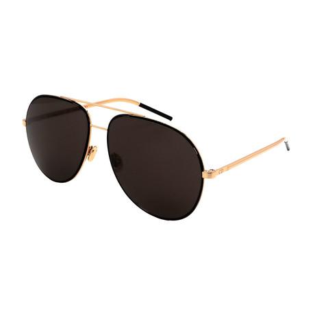 Unisex ASTRAL-2M2 Aviator Sunglasses // Black + Gold