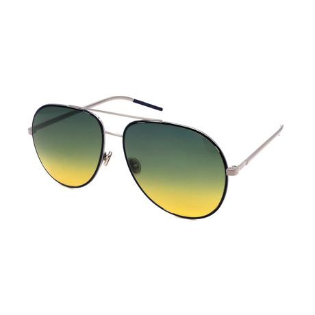 Unisex ASTRAL-DTY Aviator Sunglasses // Blue Ruthenia