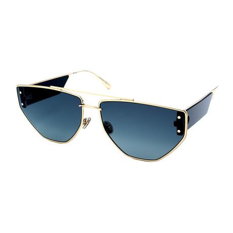 Dior // Men's CLAN-2-J5G Aviator Sunglasses // Gold