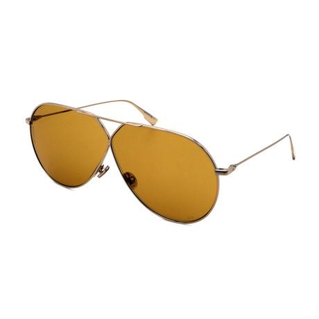 Unisex DIOR-STELLAIR-E3-J5G Sunglasses // Gold