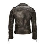 Geralt Leather Jacket // Black (2X-Large)