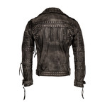 Ragnar Leather Jacket // Black (Small)