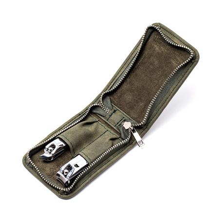 Dagger 2-Piece Groom Kit // Green