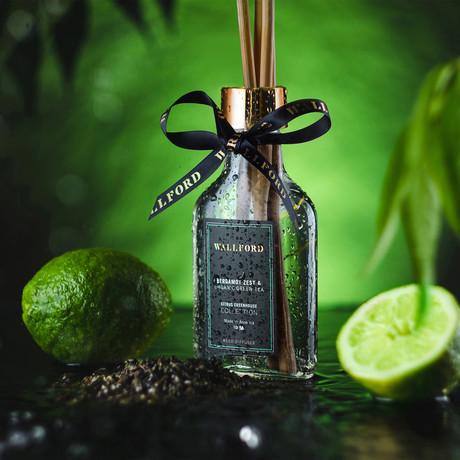 Reed Diffuser // Bergamot Zest & Organic Green Tea