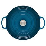 Round Wide Dutch Oven // 6.75 qt. (Deep Teal)