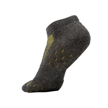 Technical Odor Resistant Socks // Gray // Pack of 4 (S/M)