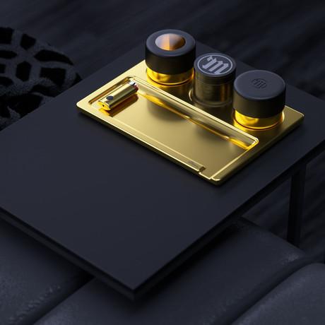 Stashtray Bundle // 24K Gold