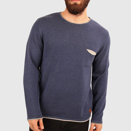 River Sweater // Navy Blue (Medium)