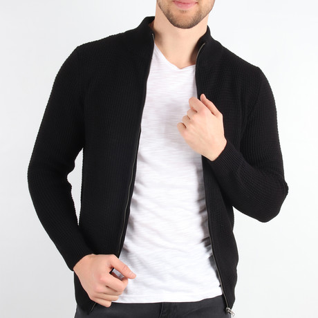 Harry Cardigan // Black (Medium)