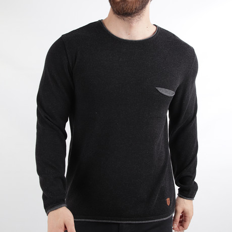 Monte Carlo Pullover // Black (Medium)