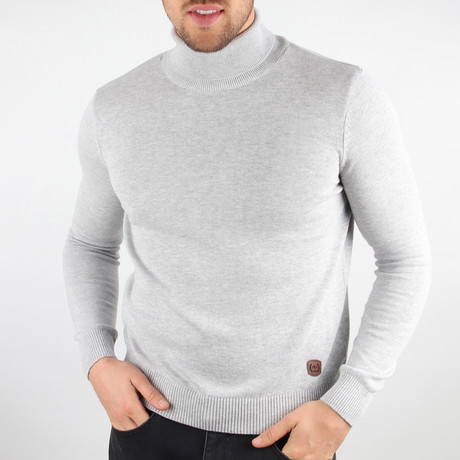Haupu Sweater // Light Gray (Medium)