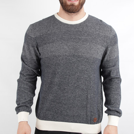 Munich Pullover Sweater // Dark Gray (Medium)
