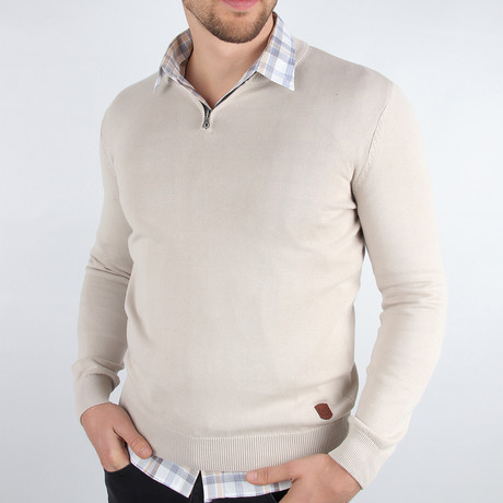 Kona Sweater // Beige (Medium)