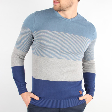 Ace Pullover Sweater // Blue (Medium)
