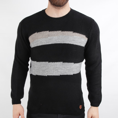 Frankfurt Pullover Sweater // Black (Medium)