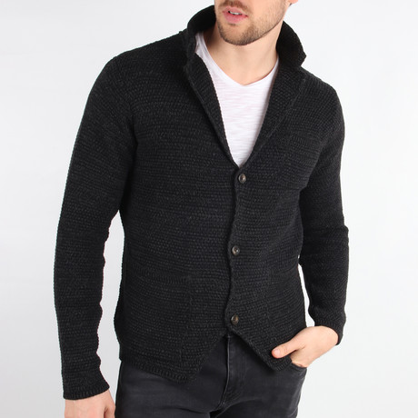 Shasta Cardigan // Black (Medium)