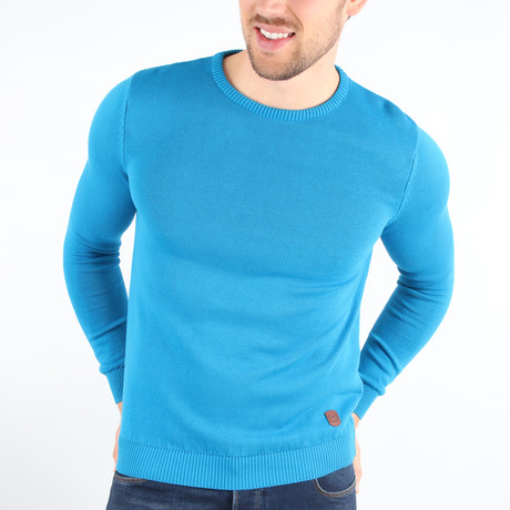 Brady Pullover Sweater // Blue (Medium)