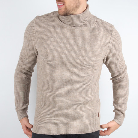 Ross Pullover Sweater // Beige (Medium)
