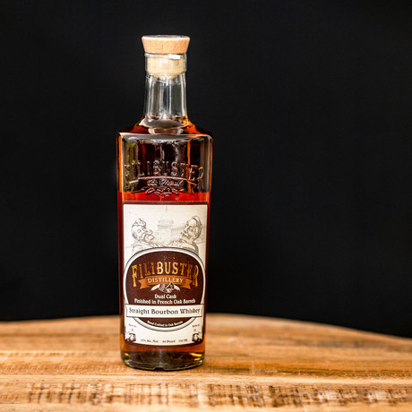 Filibuster Straight Bourbon // 750 ml