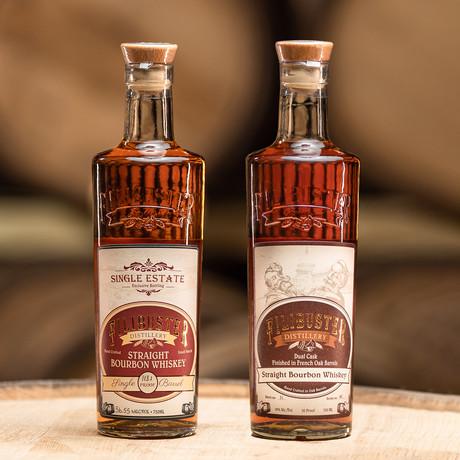 Filibuster Bourbon Set // 2 Bottles // 750 ml Each