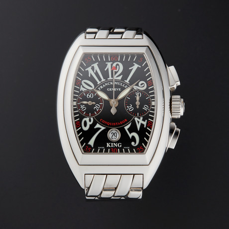 Franck Muller King Conquistador Chronograph Automatic // 8005CC // Pre-Owned
