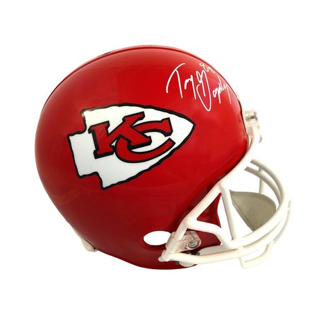 Tony Gonzalez // Signed Kansas City Chiefs Full Size Helmet