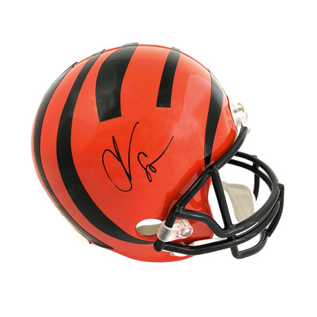 Chad Johnson // Signed Cincinnati Bengals Full Size Helmet