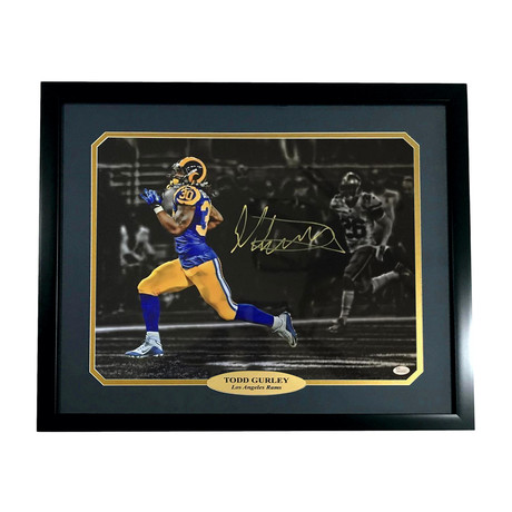 Todd Gurley // Signed + Framed LA Rams Photo