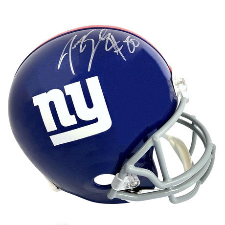 Jeremy Shockey // Signed New York Giants Full Size Helmet