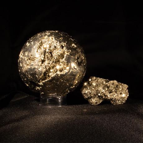 Pyrite as Art and Science Medium V2