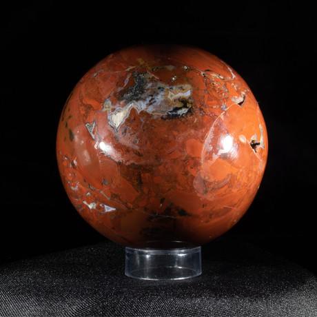 Blood Red Jasper Sphere