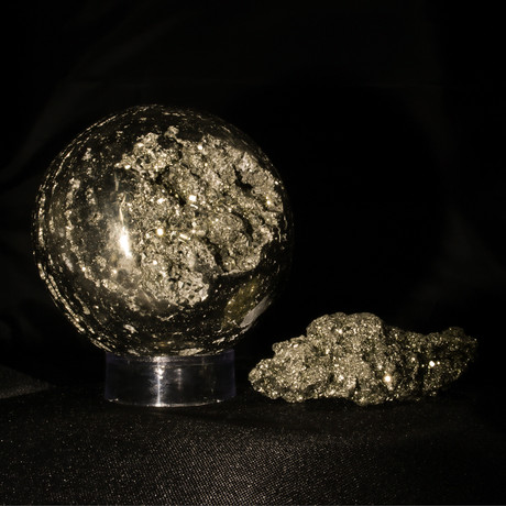 Pyrite as Art and Science Large V1