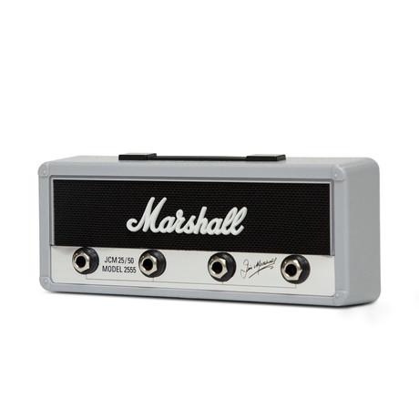 Key Holder // Licensed Marshall Guitar Amp // Silver