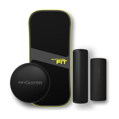 Revolution FIT 3-in-1 Balance Board // Yellow