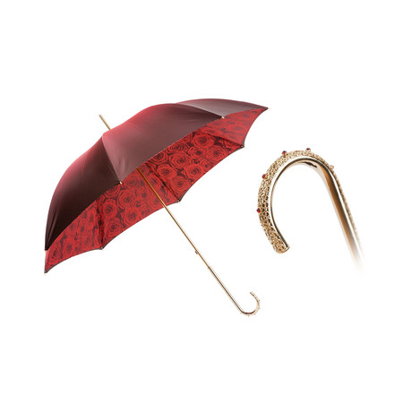 Double Cloth Umbrella // Red Roses