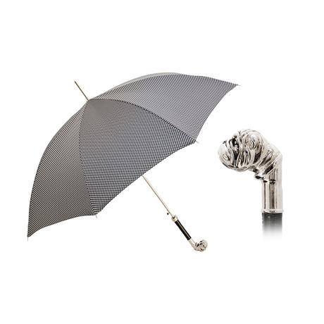 Fashion Bulldog Umbrella // Gray