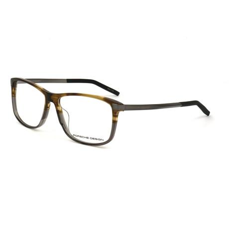 Men's P8319 Optical Frames // Brown + Gray